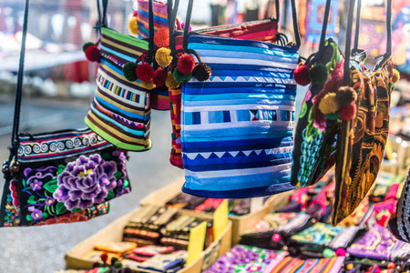Chiang Rai, Thailand - Ethnic Crafts from Nearby HIlltribes