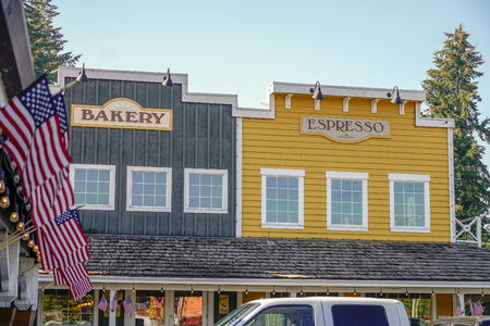 Small bakery and cafe outside Portland Oregon in the town of Sandy