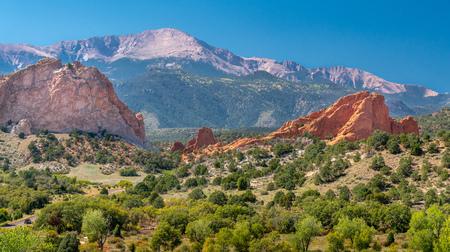 Garden of the Gods Rocks Formation 1.5 hours south of Denver, Colorado