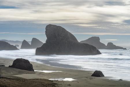 Oregon Coast Highway 101 - Pacific Northwest Pacific ocean