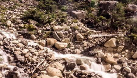 Walk from Cuernos to Refugio Chileno