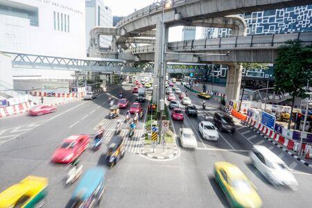 Traffic Near MBK Standard-Bild
