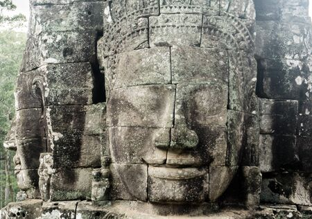 Bayon, Angkor Thon Banco de Imagens