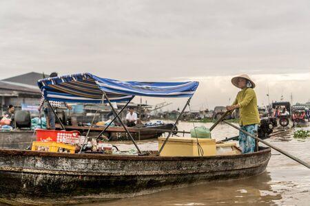 Floating Market 写真素材