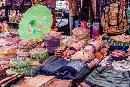 Bac Ha - Sunday Market - Fabrics