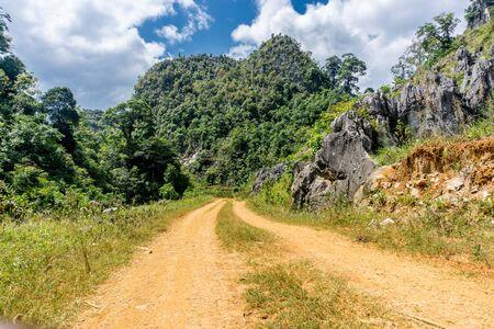 Dong Van (Ha Giang) Vietnam - Trekking restricted northern region, a winding road