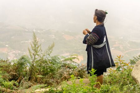 Homestay with Hmong People - older woman