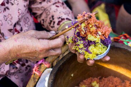 Bac Ha - Sunday Market - Colorful Sticky Rice
