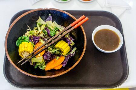 Vegetable vegan dinner