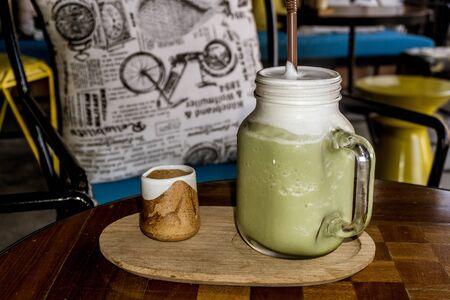 Pai, Thailand - Matcha Latte