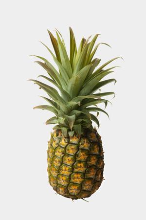Pineapple white background