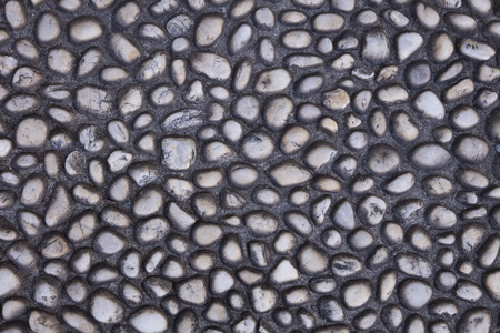 Abstract grey pebble background