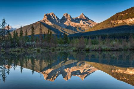 Three Sisters Reflection