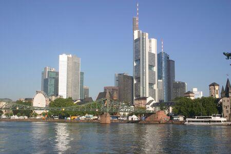 Frankfurt skyline, Frankfurt, Germany Reklamní fotografie - 241637