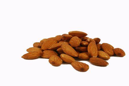 Almonds 版權商用圖片