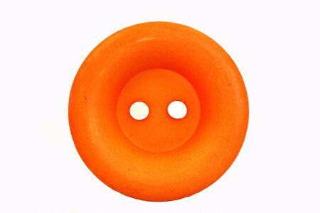 Round Orange Button