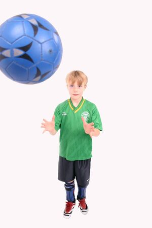 Soccer Kid 3, isolated