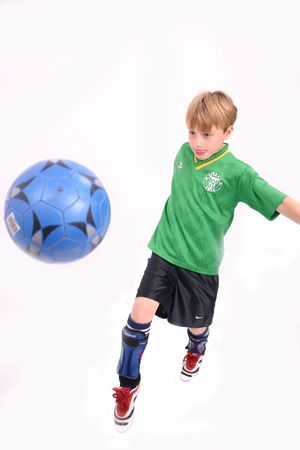 Soccer Kid 5, isolated