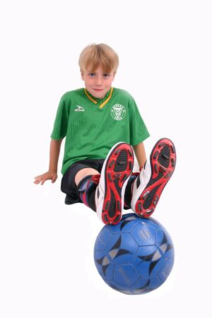 Soccer Kid 6, isolated