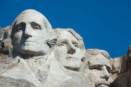 사우스 다코타에서 산 Rushmore의 전망입니다. 에디토리얼