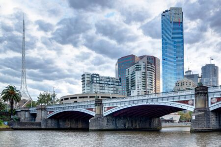 southbank: Princes Bridge and the southbank of the Melbourne CBD