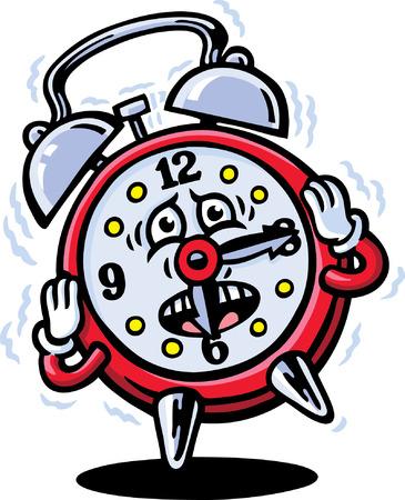 Mr Clock Illustration