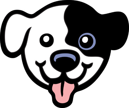 lap dog: Cucciolo Vettoriali