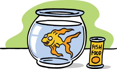 Goldfish Stock Vector - 23511648