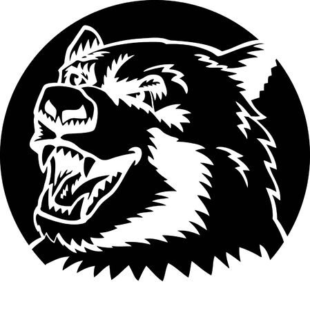Black Bear Stock Vector - 23777072