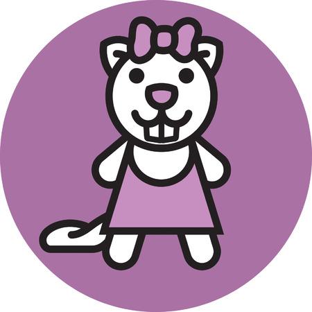 character traits: Mrs Beaver