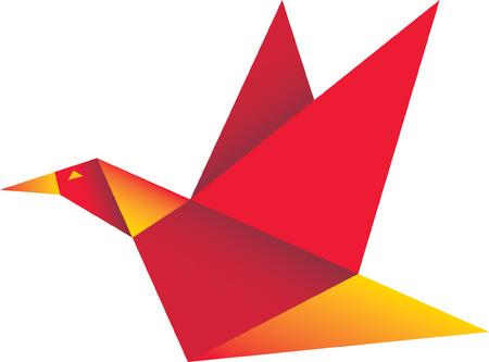 origami oiseau: Origami oiseau