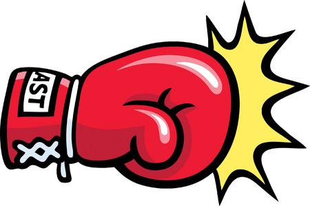 Boxing Punch Illustration