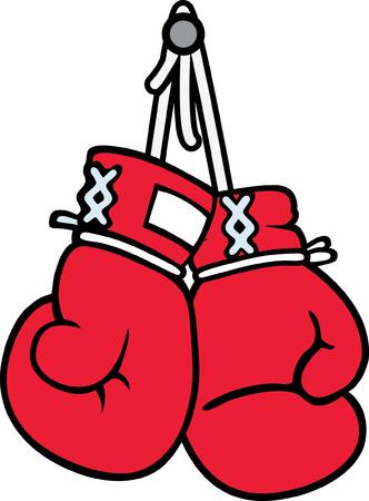 gloves: Boxing Illustration