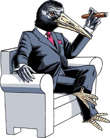 environmental suit: Mr Crow