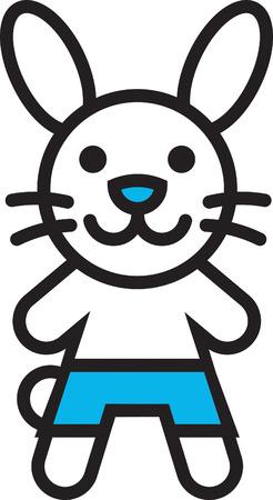 mr: Mr Bunny Illustration