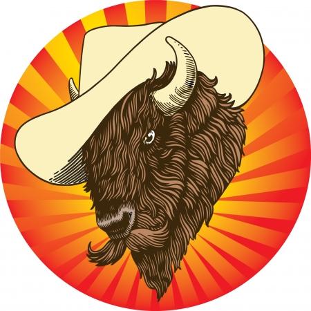 Buffalo Stock Vector - 23965435
