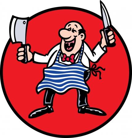 mr: Mr Butcher Illustration