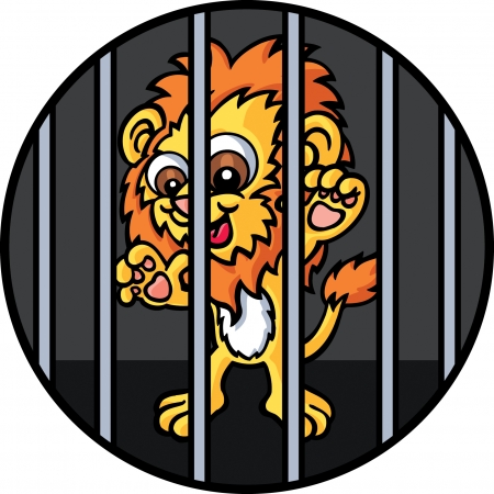 character traits: Lion Illustration