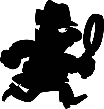 sherlock holmes: Detective Illustration