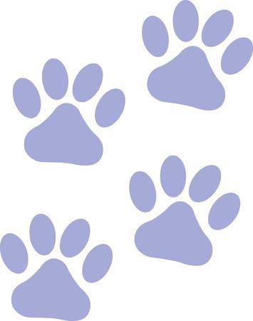 paw prints: Paw Prints