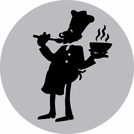Chef Silhouette Vector