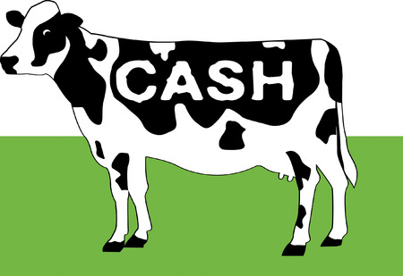 Cash Cow Vector