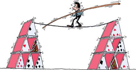 tightrope: Strakke koord