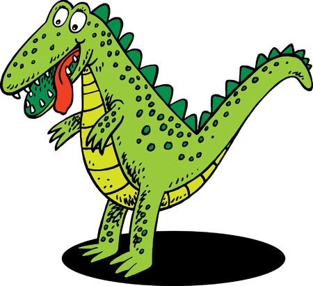 Pet Dinosaur Vector