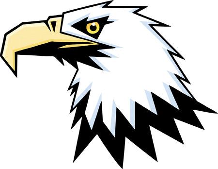 red head: Eagle