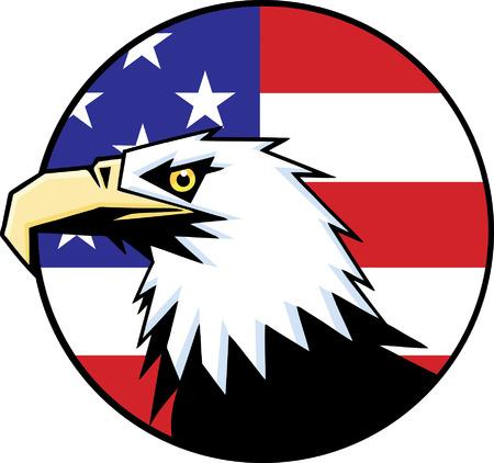 patriotic eagle: Eagle