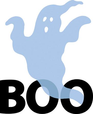 period costume: Ghost Illustration