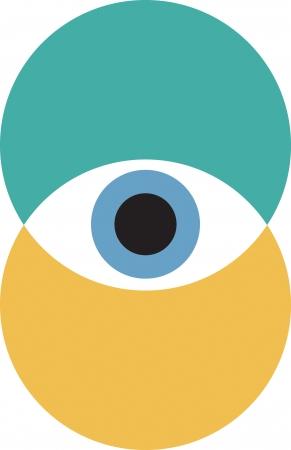 globo ocular: Ojo Vectores
