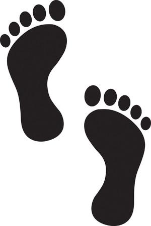 Feet Vector