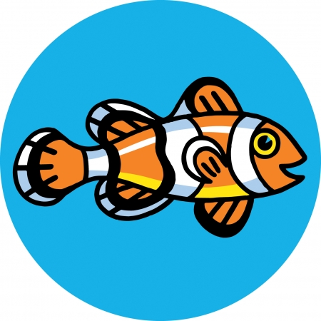 Clown Fish Stock Vector - 24304673